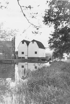 Haxted Mill, Haxted, mill pond