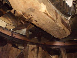 Brakewheel, brake, curb and truck wheel, Impington Mill, Histon and Impington