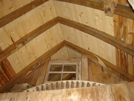 Roof framing, Stocks Mill, Wittersham