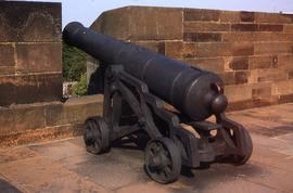 """Carlisle - Carron Cannon in Castle"""