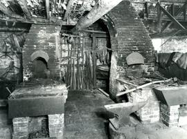 New Buckenham, Norfolk, Blacksmith, forge