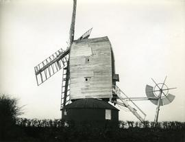 Sprowston Mill, Norwich, including sails and fantail