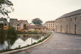 Charlton Brewery & millpond, Shepton Mallet