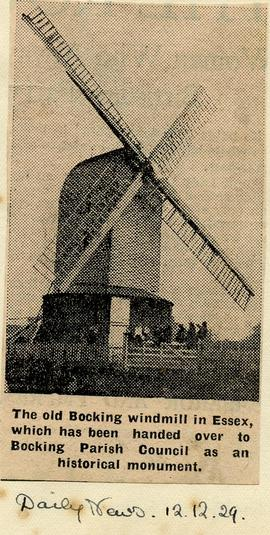 The old Bocking windmill