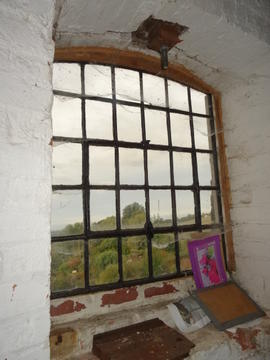 Iron-framed window, tower mill, Quainton