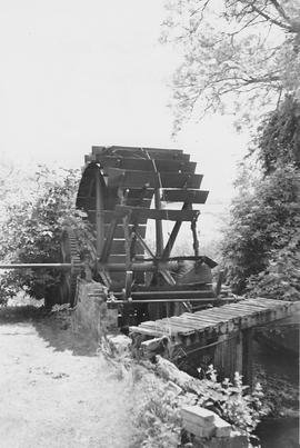 Marlston Farm Mill, Bucklebury, wheel