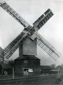 Toftwood Post Mill, Norfolk
