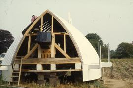 """Hickling Mill, restoration of cap"""