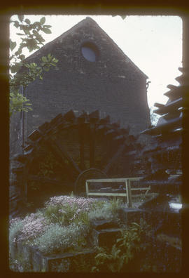Cheddleton, Staffordshire, South Mill, waterwheel