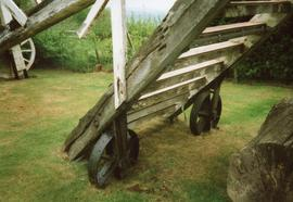 Ladder and wheels, Argos Hill Mill, Mayfield