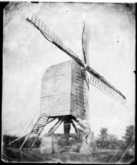 View of post mill