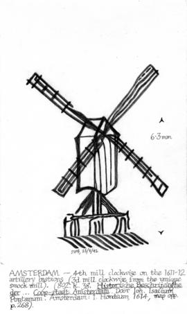 Post mill, Amsterdam
