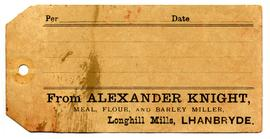 Alexander Knight, label