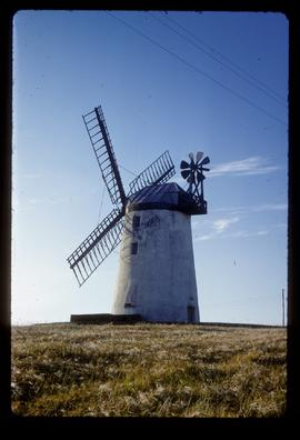 Ballycopeland Windmill, Millisle, restored with sails