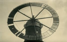 Detail of annular sail, Ruffle's Mill, Haverhill