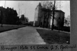 Bruges: Porte St. Croix and  S. Postmill
