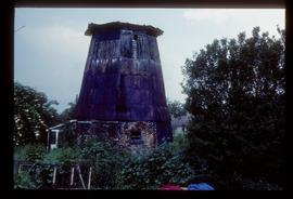 Derelict capless tower, Hardfield Mill, Soham