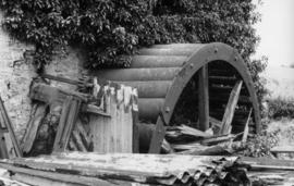 Disused waterwheel, Wolviston Mill, Wolviston