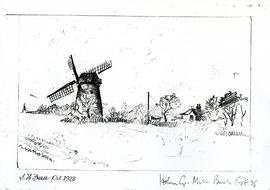 Copy of drawing by SH Freece, October 1928