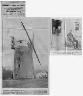 """The windmill at Ballycopeland, Millisle"""