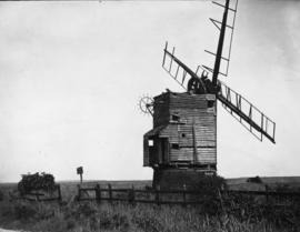 Composite Mill, Thornham, derelict