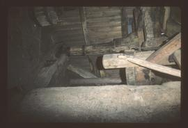 Interior of post mill