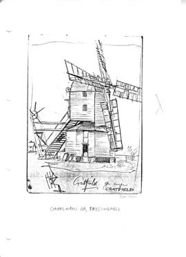 Chippenhall Green Mill, Fressingfield, Suffolk.