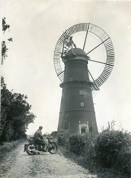 Distinctive Sailed Tower Mill