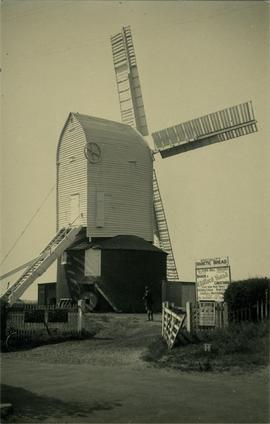 Downs Mill, Bexhill, and bakery, both in working order
