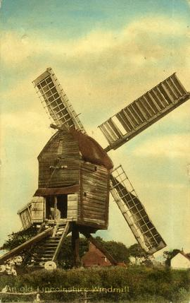 An old Lincolnshire Windmill