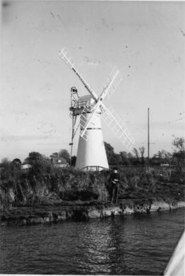 Morse's Mill, Thurne Dyke, preserved