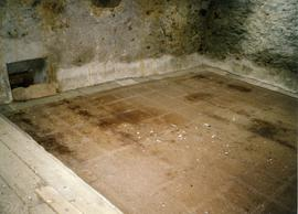 Photograph of the mill floor, Old Ross mill, Wexford, Ireland