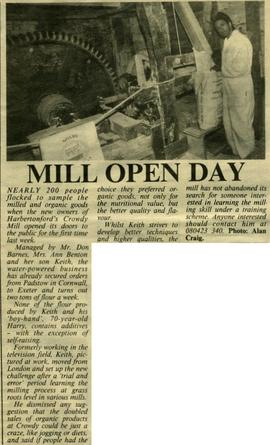 """Mill open day"""