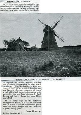 """Shiremark windmill"""