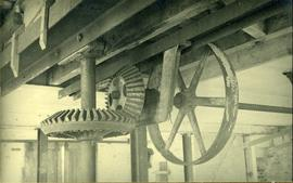 Machinery in roof, Fresh Mill, Fishbourne