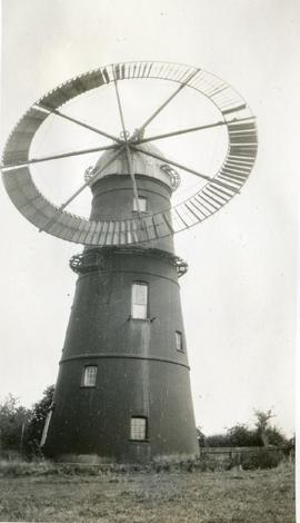 Ruffle's Mill, Haverhill, with circular sail