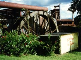 Photograph of a waterwheel, Caribbean