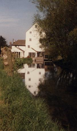 Upstream view, Littlebourne Mill, Littlebourne, Canterbury