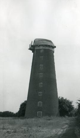 Hickling Mill, Hickling, derelict, without sails
