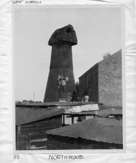 Thanet Mill, Northwood, Ramsgate, with no sweeps and damaged cap