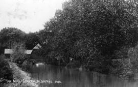 View from upstream, Trusler's Hill, Albourne