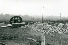 Remains from Moreton post mill