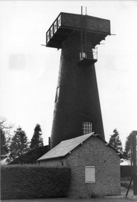 Copton Mill, Faversham, with water tank