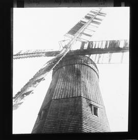 View of cap and sails, Almer's Mill, Ockley