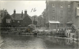 Burghfield Mill, from across the river.