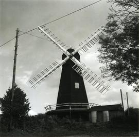 Davison's Mill, Stelling Minnis, showing sweeps and engine house
