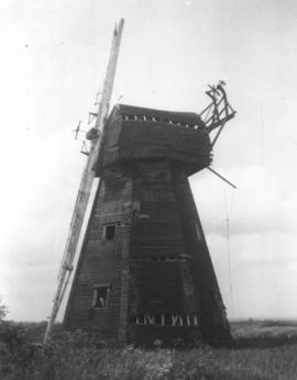Close Up side view, Old Mill, Northbourne