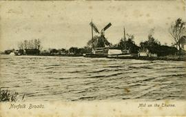 Norfolk Broads, Mill on the Thurne