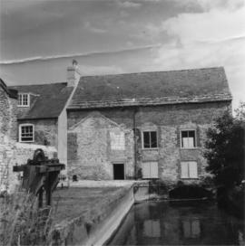 Downstream view, Stratton Mill, Stratton