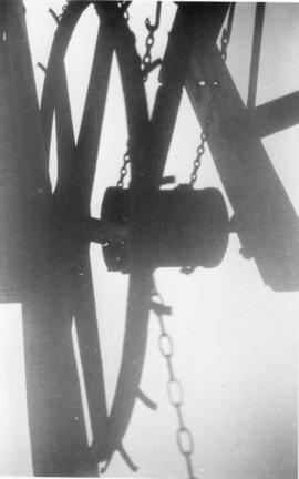 Sack hoist wheel, tower mill, Blundeston